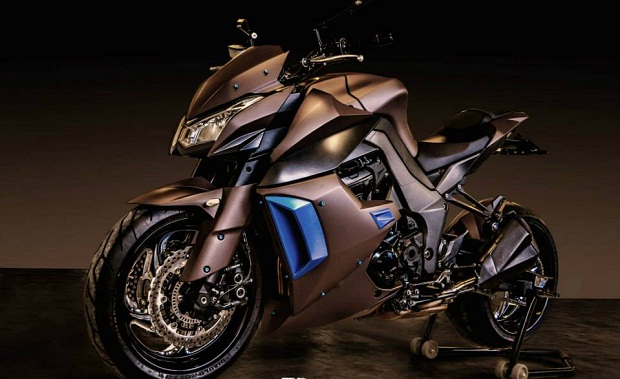 Modifikasi Streetbike Futuristik dari Kawasaki Z1000