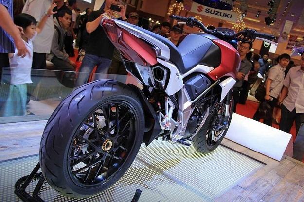 Honda SFA Concept Kembali Memanjakan Penggemarnya Lewat Osaka Motorcycle Show 2015