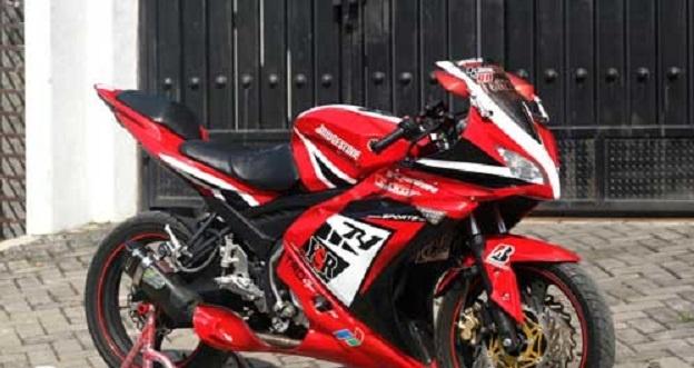 Modifikasi Full Fairing Yamaha V-Ixion, Kesambet Sama Penampilan MotoGP
