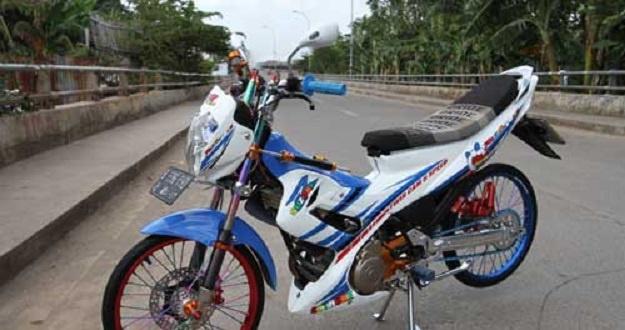 Modifikasi Suzuki Satria F150, Gaya Thailook Kembali Bangkit