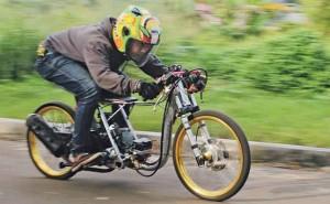 Konsep Modifikasi Drag Race Honda BeAT 2015
