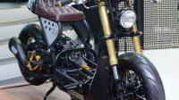 Modifikasi Honda Zoomer X Jadi Cafe Racer, Penampilan Semakin Macho