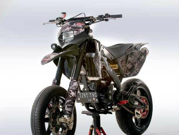 Modifikasi Kawasaki D Tracker 250, Pengeluaran Dana Tidak Tanggung-Tanggung