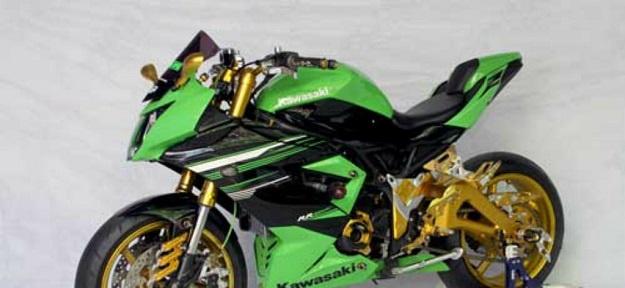 Modifikasi Kawasaki Ninja RR Mono, Limbah Moge Jadi Sasarannya