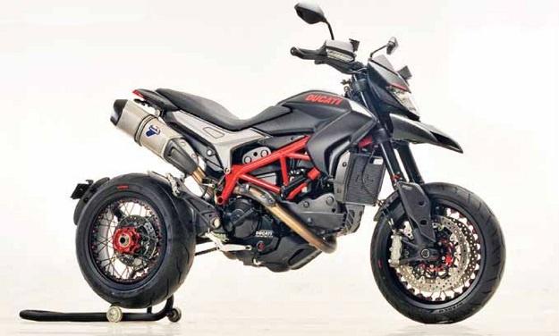 Inilah Penampilan Ducati Hypermotard Menggunakan Pelek Jari-Jari 40 Jutaan