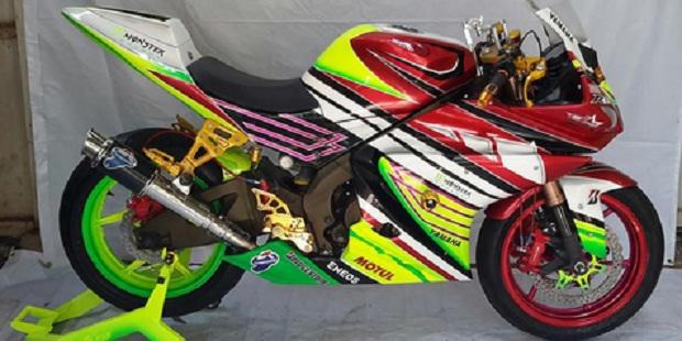 Konsep racing style R125 dan M1 Ubah Tampilan Vixion
