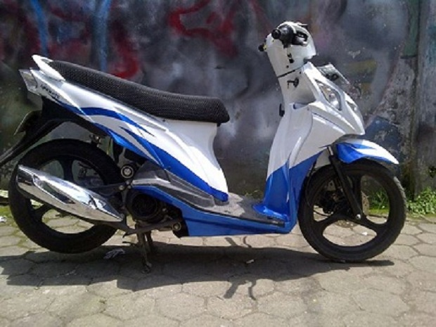 Perubahan Penampilan dengan Suzuki Nex Hasil Modif