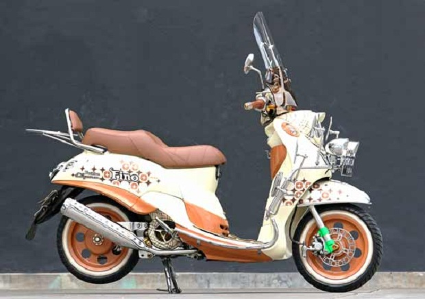 Pilihan berbeda dan Keren Untuk Yamaha Fino