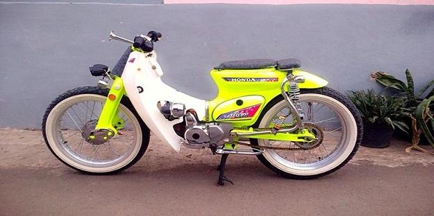 Modifikasi Honda Astrea c86, Tidak Terlihat Ketuaan Lagi