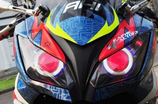 Modifikasi Kawasaki Ninja 250 FI, Kenang-kenangan Untuk Daijiro Kato