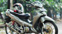 Modifikasi Racing Look Honda Supra X 125, Mengutamakan Keselamatan Berkendara