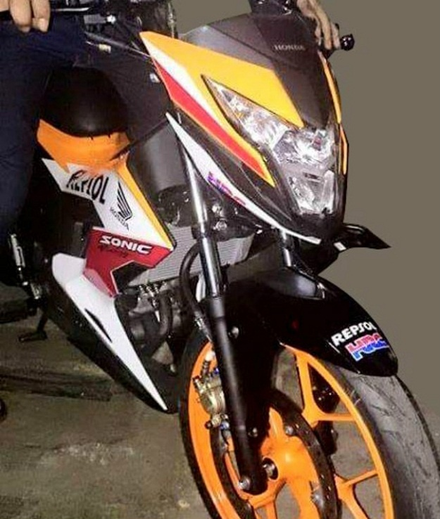 Honda Sonic 150R Akan Mengaspal Di Indonesia, Keren Guys!