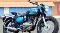 Modifikasi Kawasaki Estrella, Konsep Klasik-Custom Makin Menyentuh