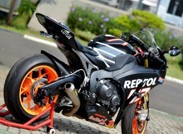 """Modifikasi Honda CBR1000RR Untuk Dukungan Sang Idola di MotoGP """"Marc Marquez"""""""
