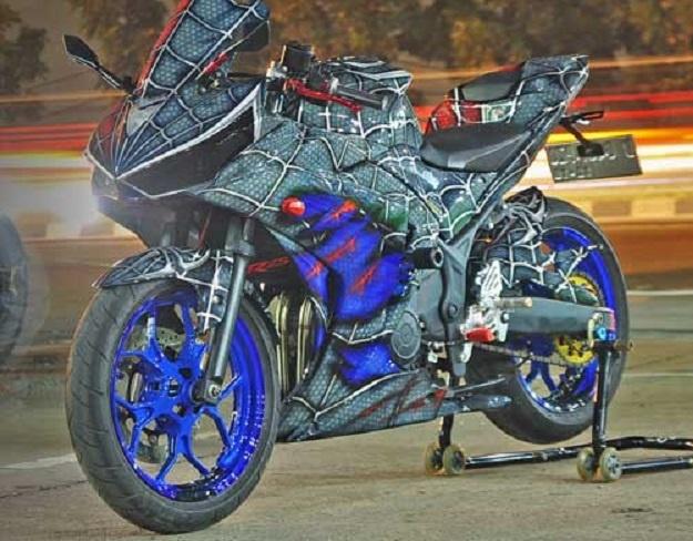 Modifikasi Yamaha YZF-R25, Inspirasi Superhero Asal Amerika