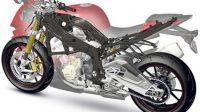BMW Mengembangkan Rangka Motor Berbahan Serat Karbon