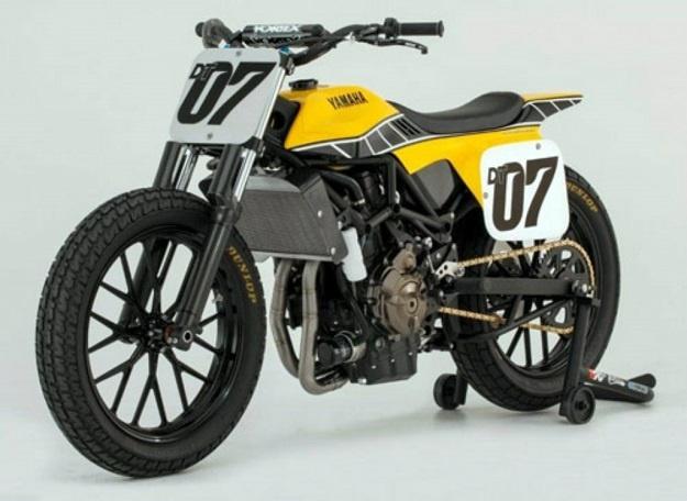 "Motor Yamaha Terbaru Berbasis MT-07 ""Yamaha DT-07 Flat-Track"""