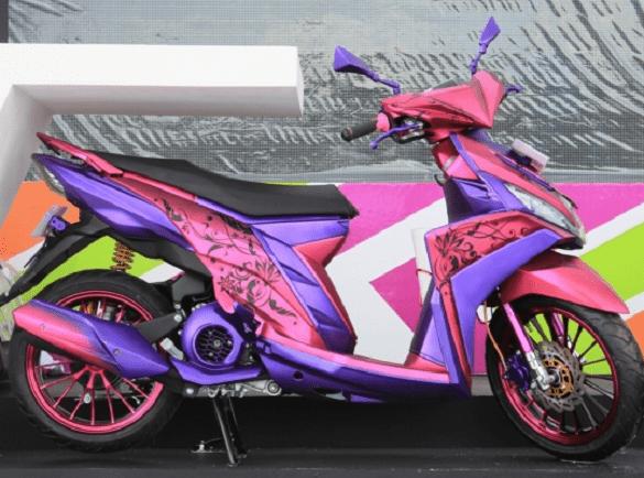 Konsep Modifikasi Harian Yamaha Mio M3 Terbaru 2016