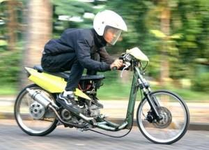 Yamaha Mio Soul 270 cc Monster Aspal Dari Cibitung
