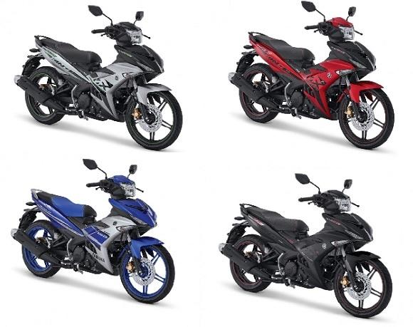 Inilah Beberapa Warna Terbaru Milik Yamaha MX-King Dengan Konsep Pride of Street King