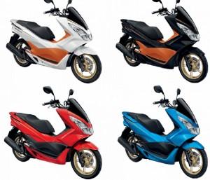 Honda PCX 150 Versi Thailand Rilis Warna Terbaru